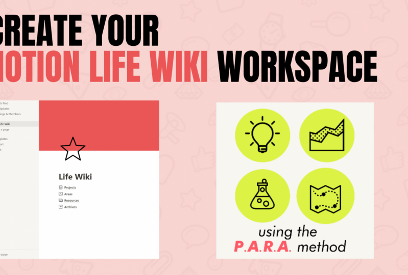 Create Your Life Wiki Workspace using the PARA Method