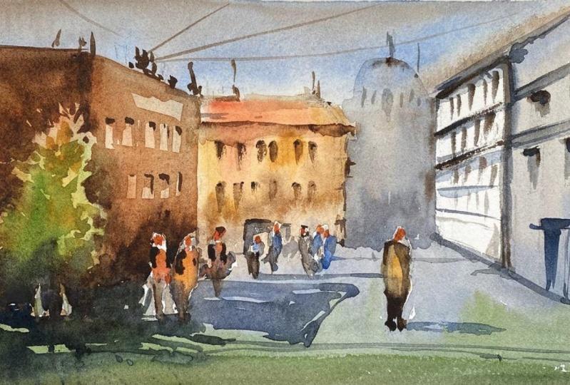 City Scene Practice