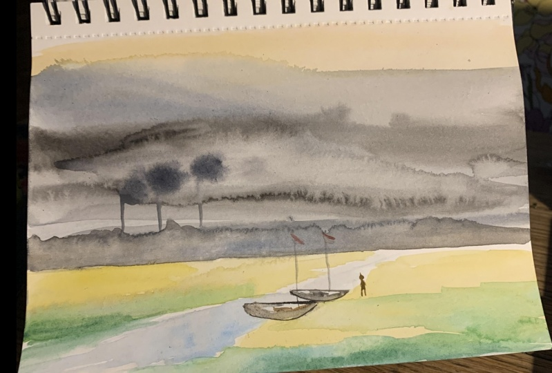 Stormy Landscape - That was fun!