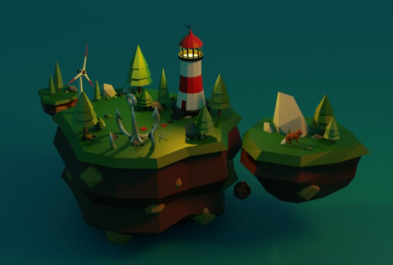 Foxy Sky Island