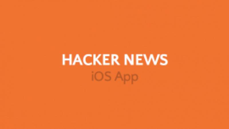 Hacker News iOS App