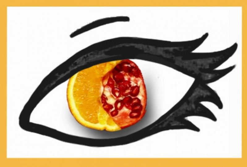 Orange-Pomegranate