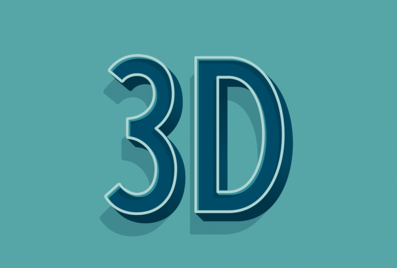 3D Animated Lettering - 9 Styles