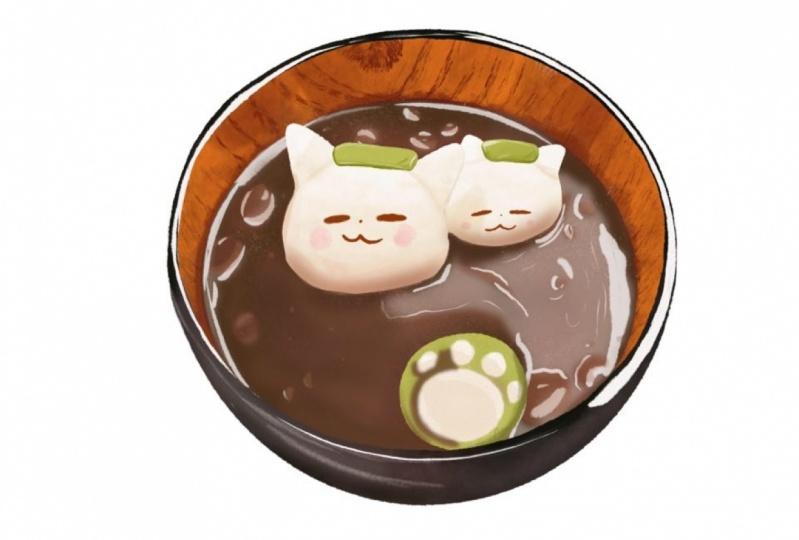 Kawaii soup