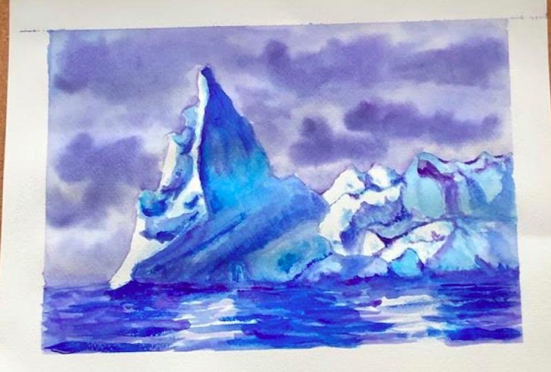 Iceberg! right ahead!