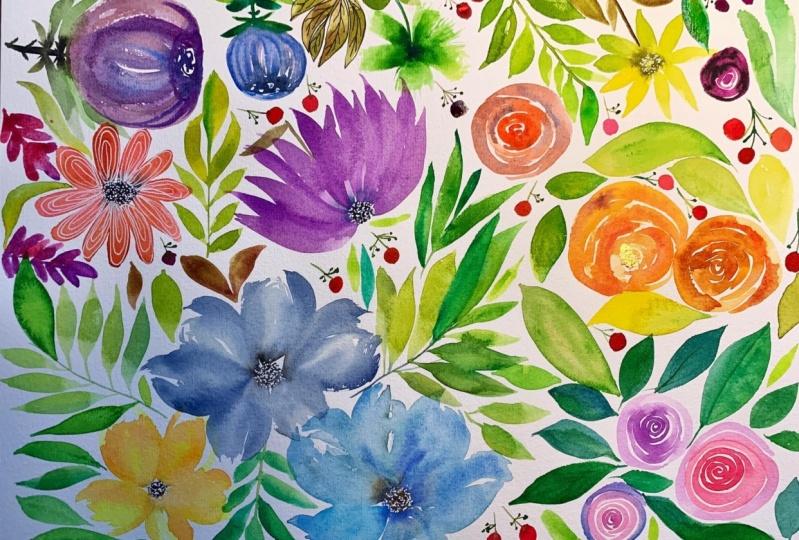 Floral Art class