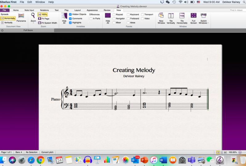Creating Melody