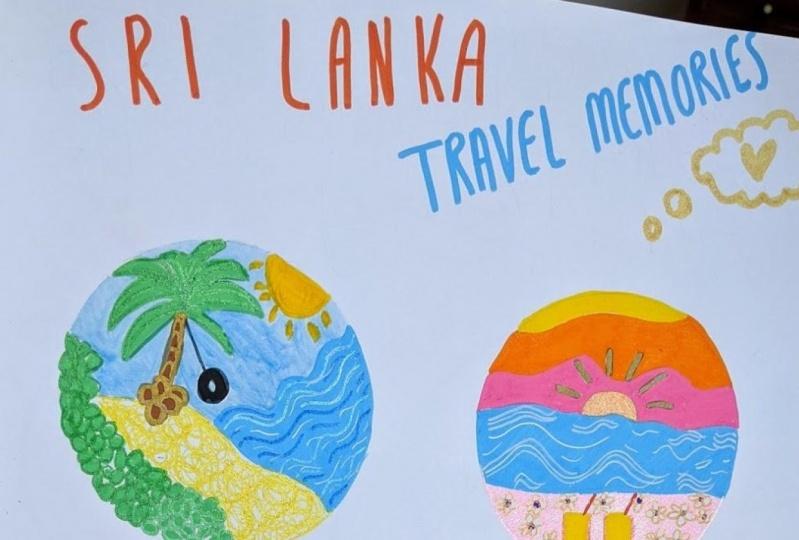 Sketchbook: Sri Lanka