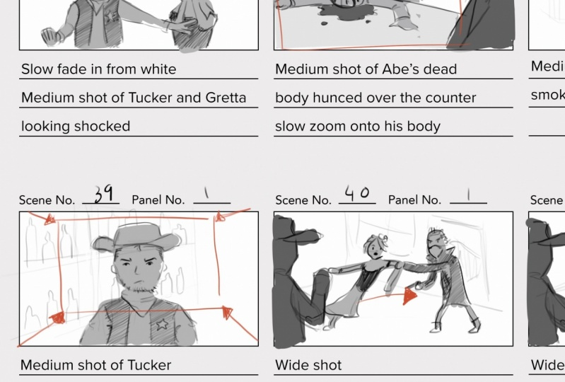 Project Storyboards