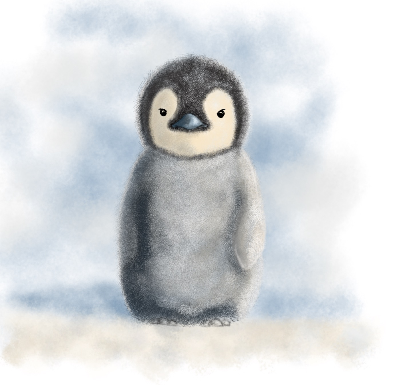 How to draw a penguin: master class 59