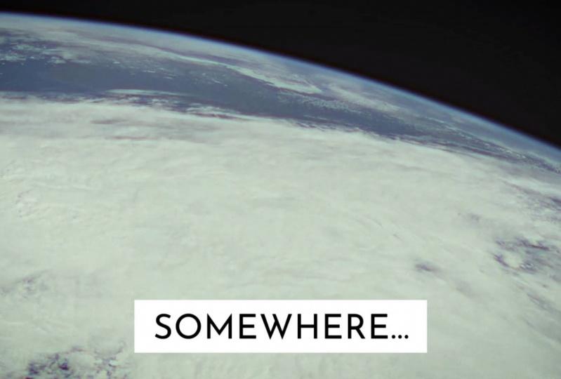 """Somewhere...anywhere"""