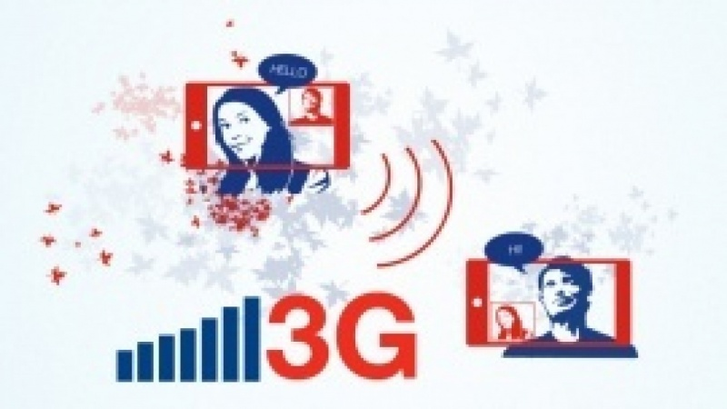 3G section of a telecom website