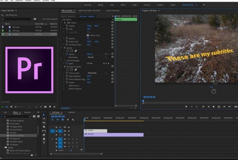My first video edit with premiere pro