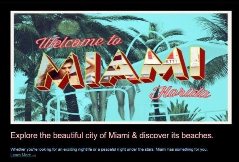 HTML Email Template (Miami)