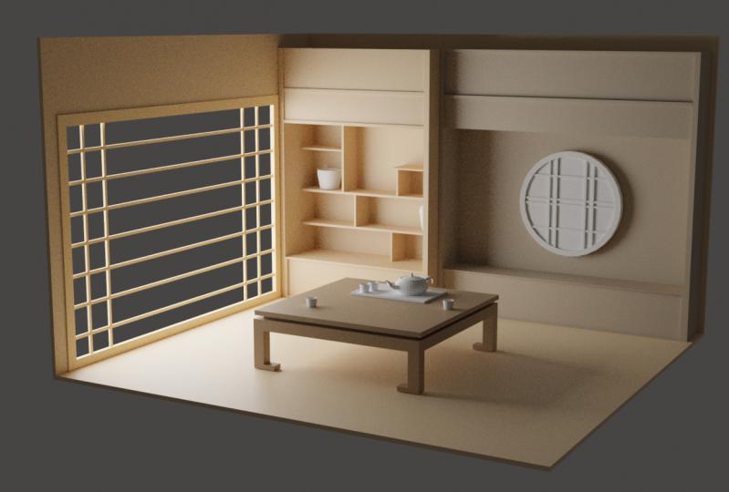 Simple Japanese Room