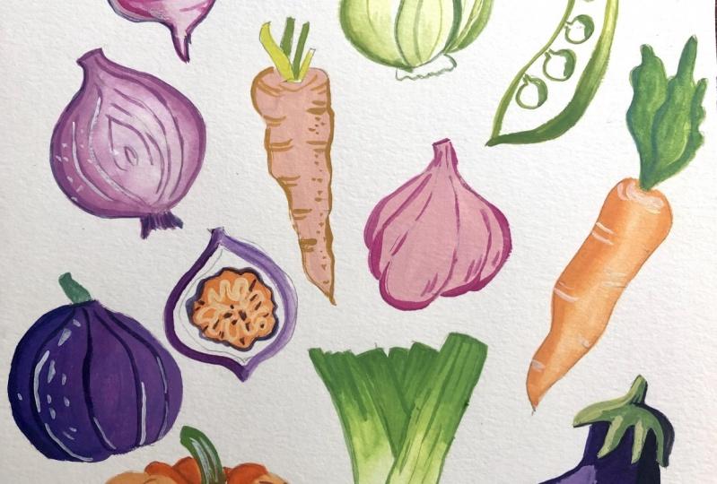 Veggies and fruit