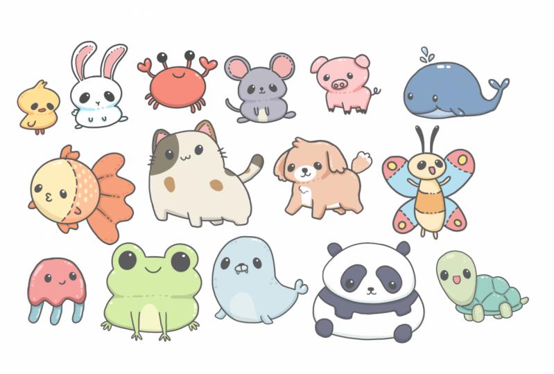 kawaii animals