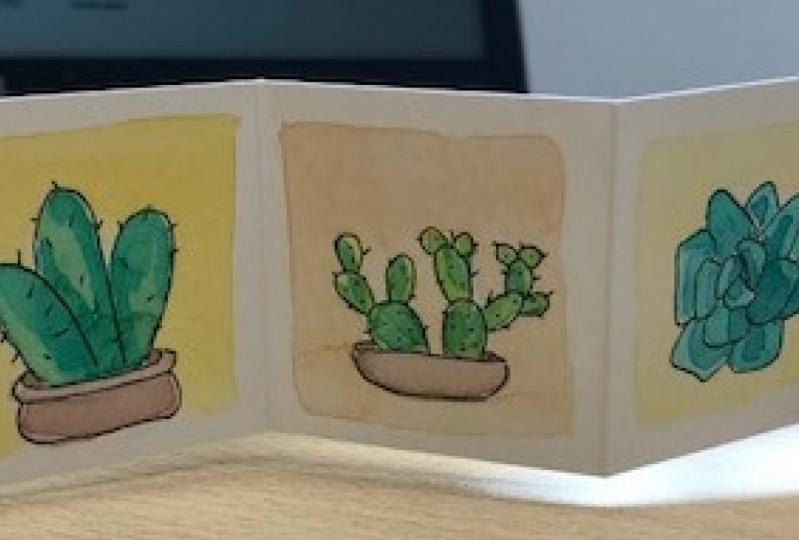Cactus Mini Book