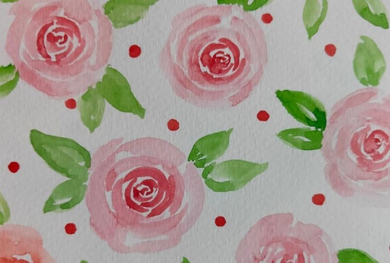 8 Watercolour Pattern Projects