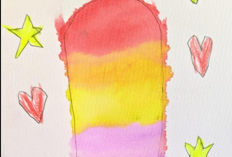 Moxie's Popsicle (Age 6)