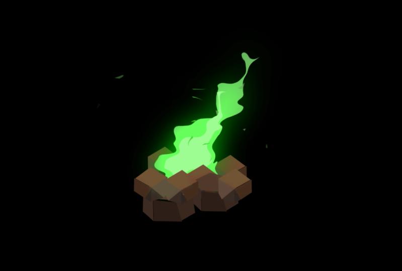 Campfire (Green)