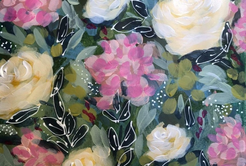 Abstract floral!
