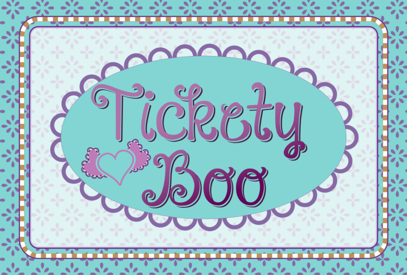 The appearance of tickety boo