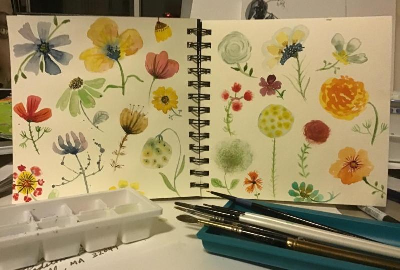 Watery Flowers