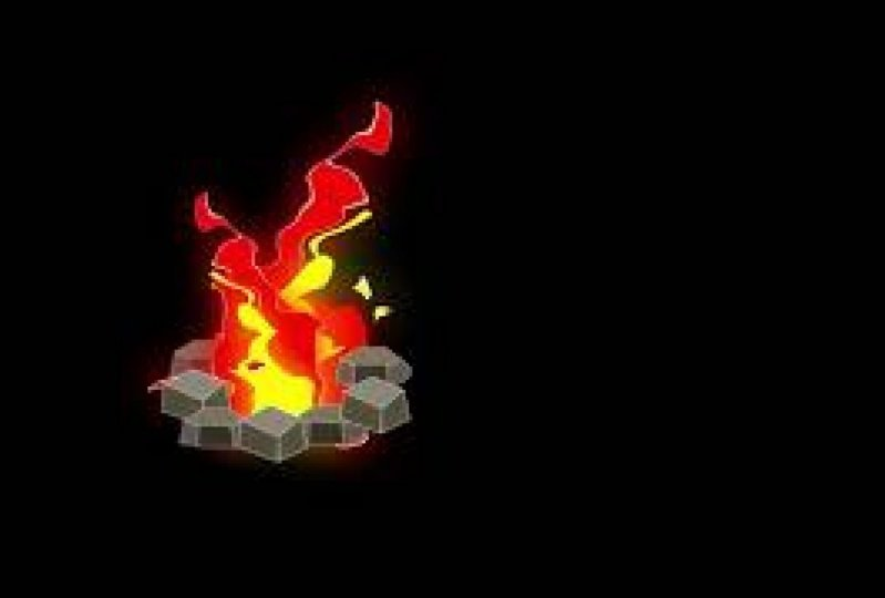 2D Fire Animation