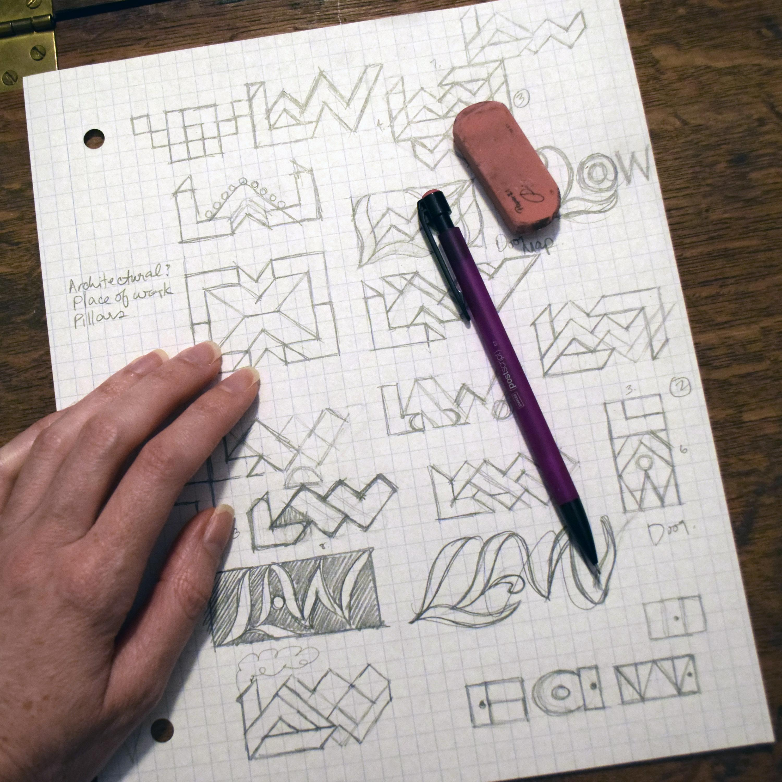 logo design latin s at work skillshare projects