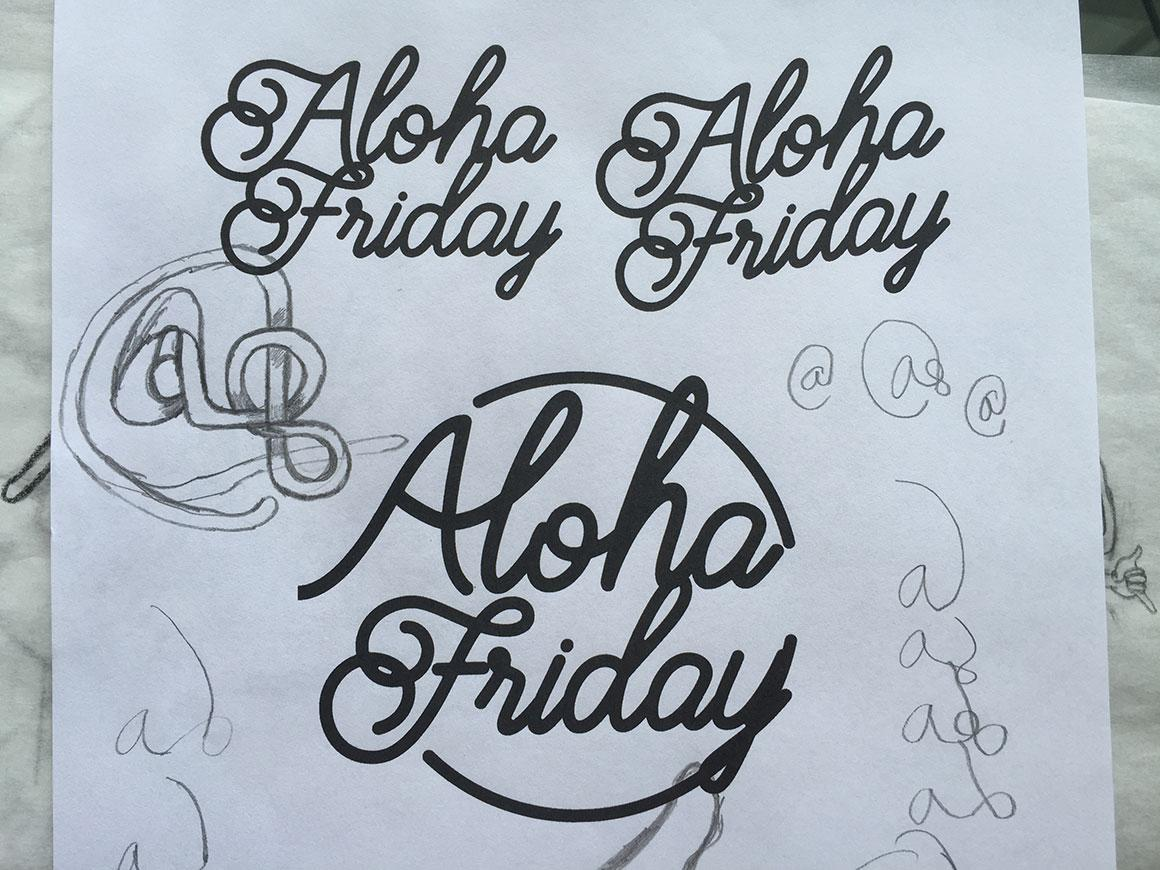 Aloha Friday | Skillshare Projects