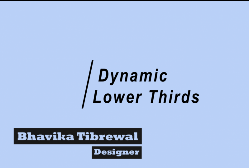 Lower Third Template