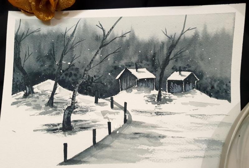 Monochrome Snowscapes