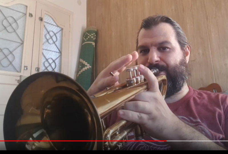 homework - Learn to play the trumpet from scratch