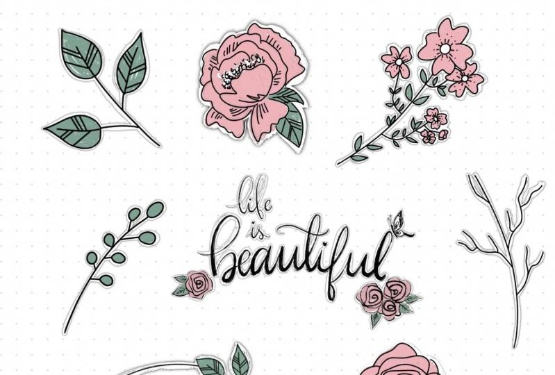 Floral Doodles