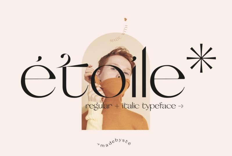 Etoile typeface