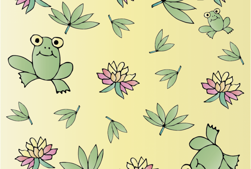 Frogs and Lilly pads