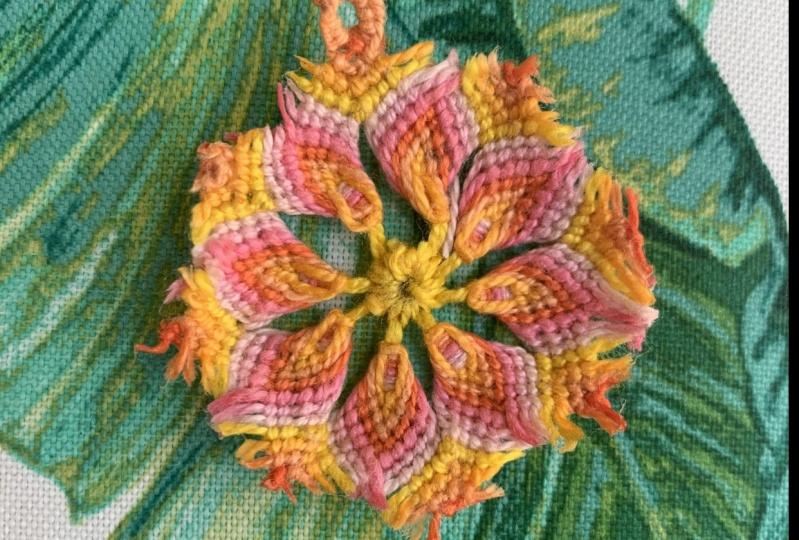 Macrame Mandala Embroidery Floss