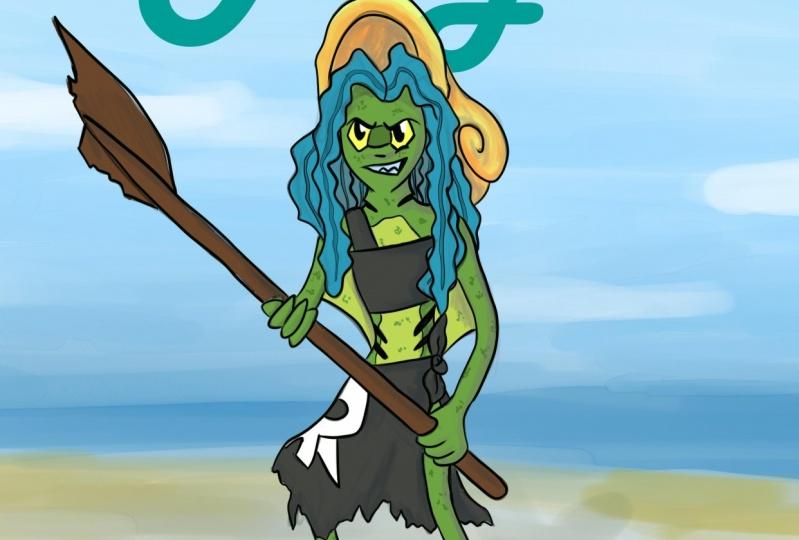 Alga: a Shipwreck scavenger