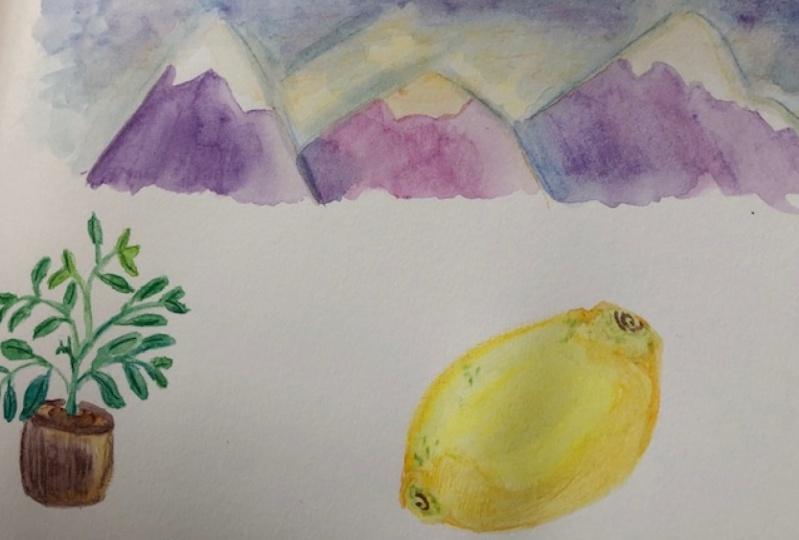 Watercolor Pencil Practice