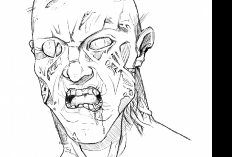 Zombie art - Veronica