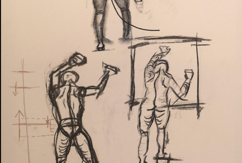 loose poses from memory