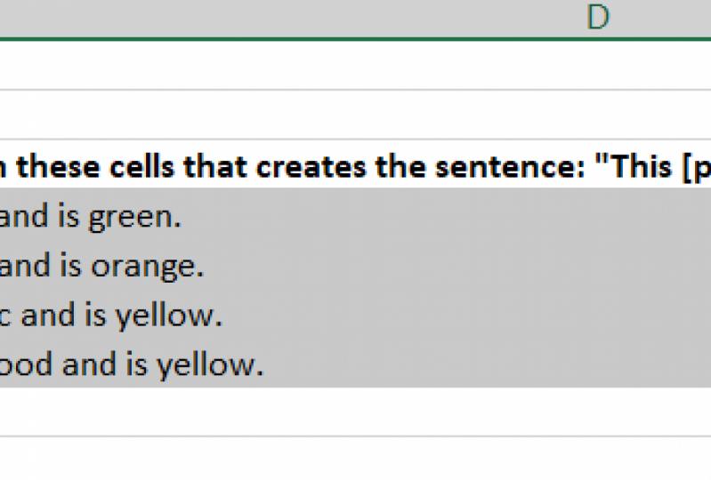 Excel Text Functions