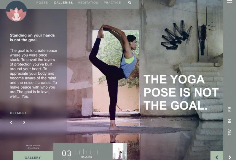 Yogi Landing Page