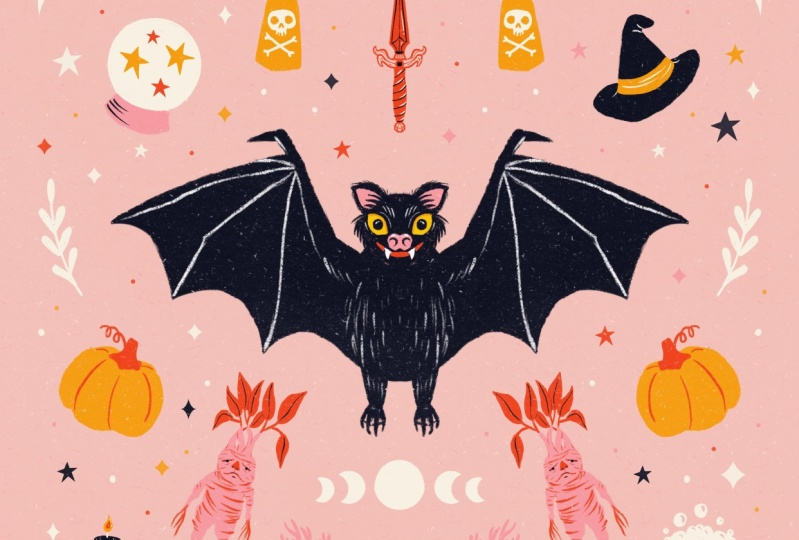 Magical Fruit Bat