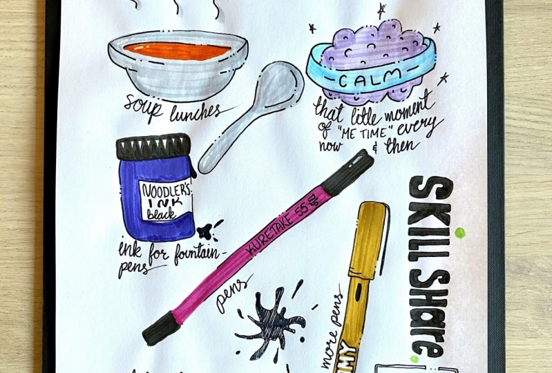 Create a Daily Art Practice this Inktober: A 28-Day Self-Care Challenge