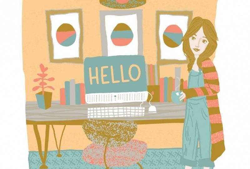 Julie Ann Lopez - illustration portfolio website