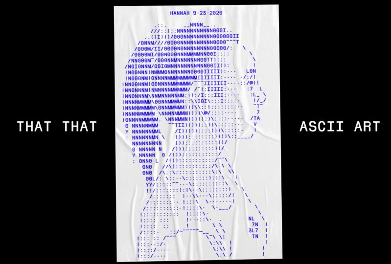 ASCII Hannah