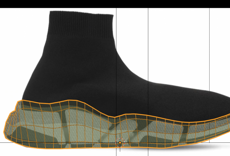 3D Shoe tests - from the Digital Fashion Tutor class