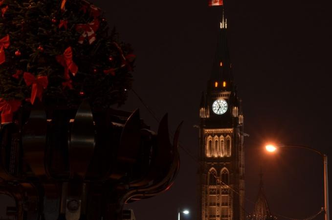 Ottawa at night